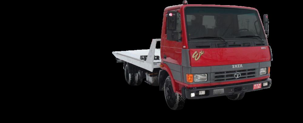 Заказать эвакуаторы TATA со сдвижной платформой