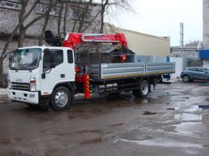 JAC N120 с КМУ Taurus 035A